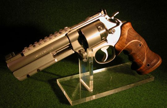 Smith and Wesson Model 627.