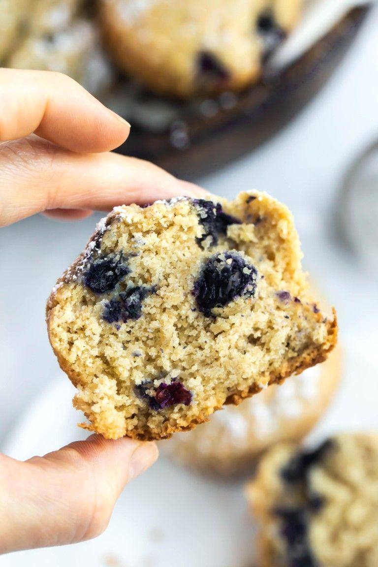Vegan Gluten Free Blueberry Muffins Oil Free Recipe Vegan
