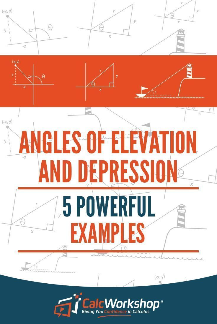Angles Of Elevation And Depression 5 Powerful Examples