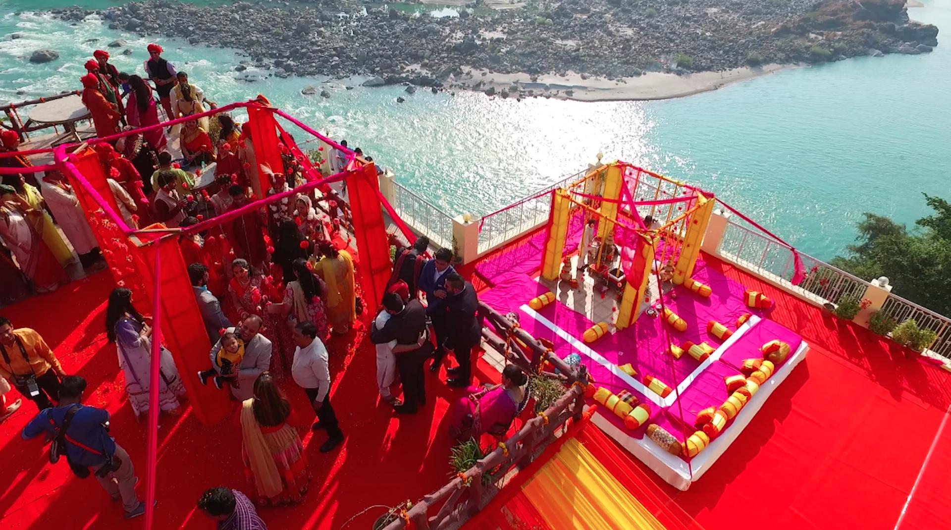 Rishikesh Spiritual Start Destination wedding places