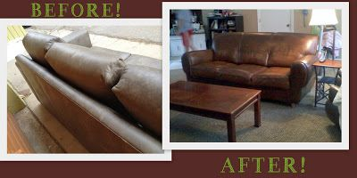 How To Re Dye Your Leather Furniture Diy For The Home