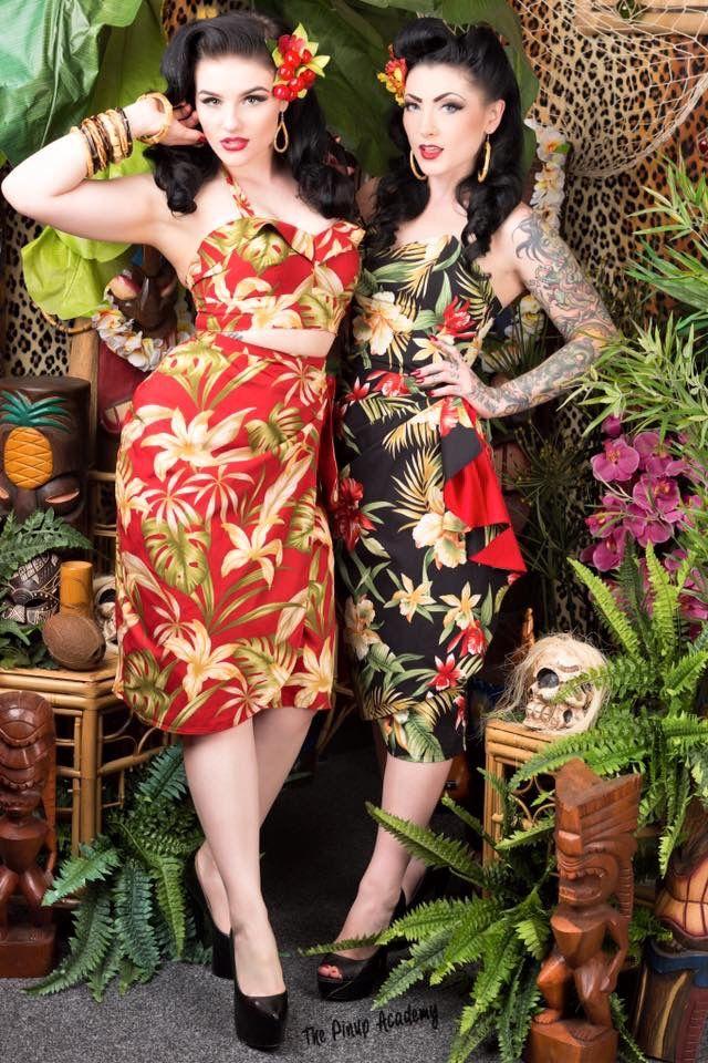 1f6cbf6d88e78 hawaiian luau party outfit) | 'at's Tiki in 2019 | Tiki dress, Luau ...