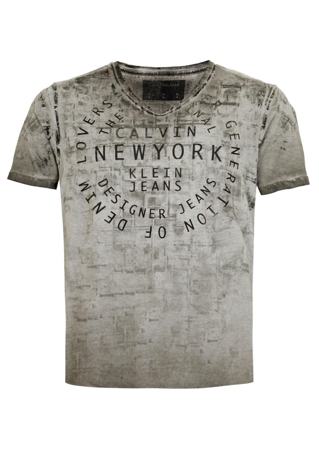 Calvin Klein Calvin Klein Masculino, Camisetas Masculinas, Renato, Estampas,  Pesquisa, Homens 38e6718128