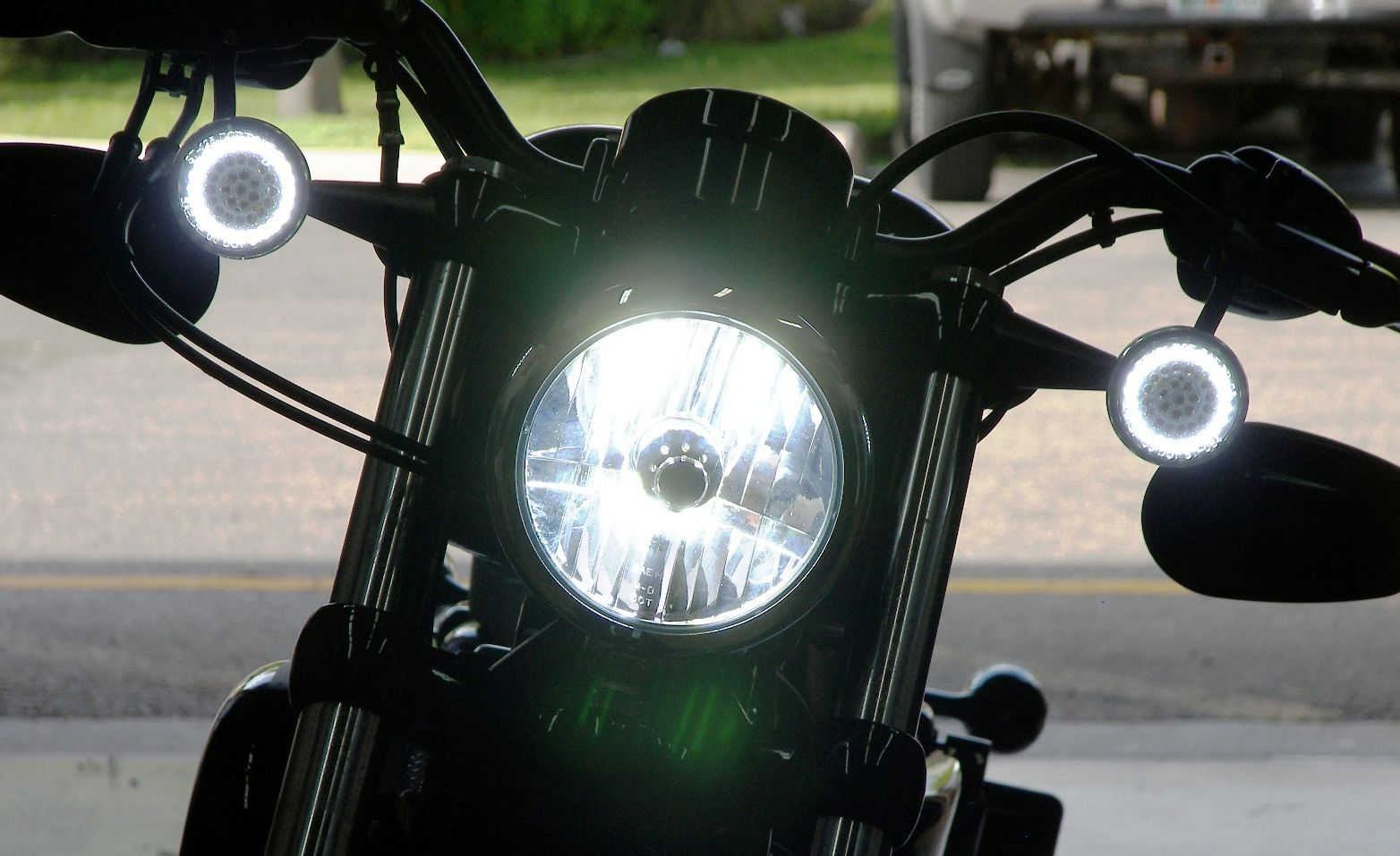 Motorcycle Headlights for Modern Classic and Vintage Motorcycles ...