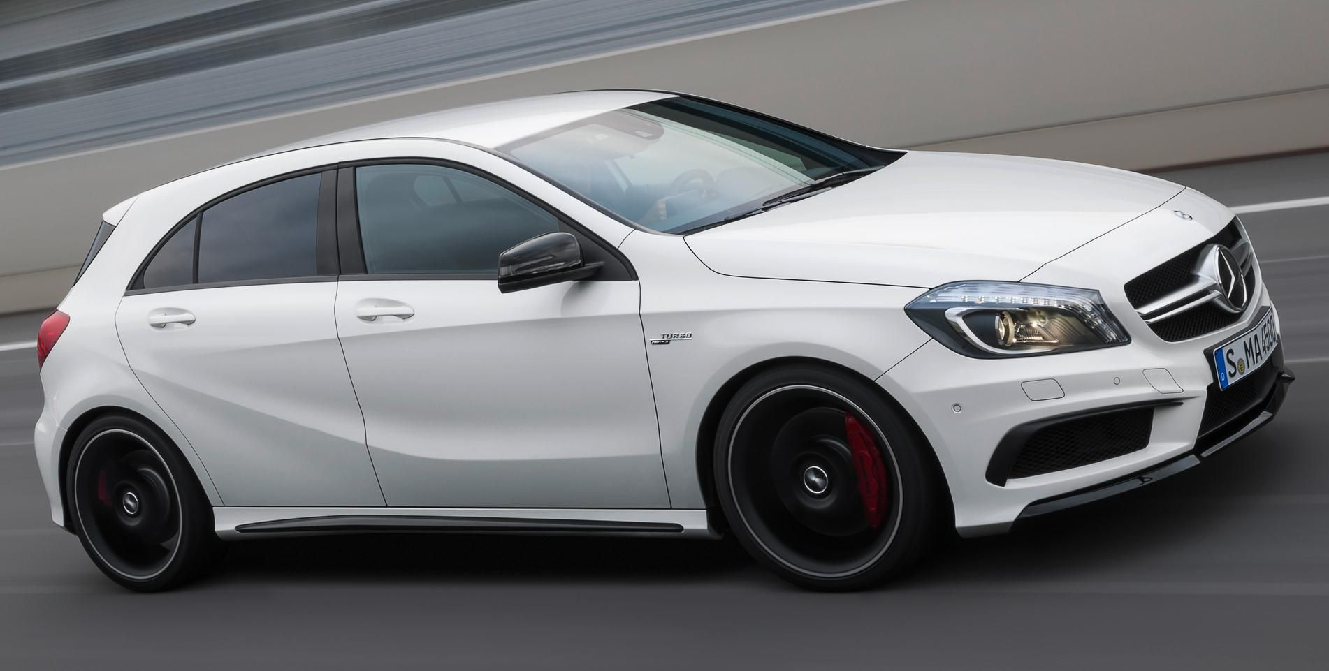 Mercedes Benz Has Just Unveiled The A 45 Amg A New Compact Sports
