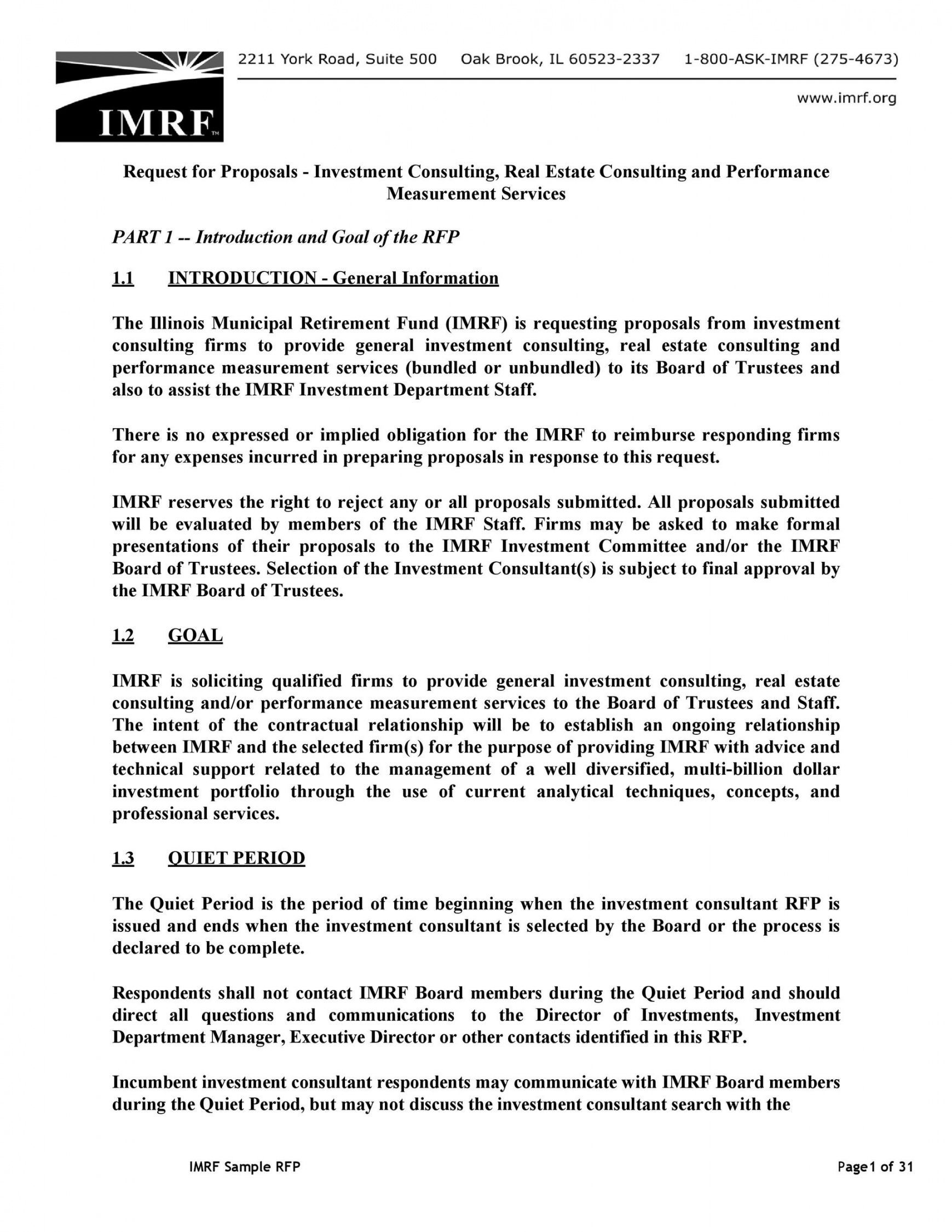It Consultant Proposal Template Proposal Templates Business Proposal Template Business Letter Template Human resources consulting proposal template