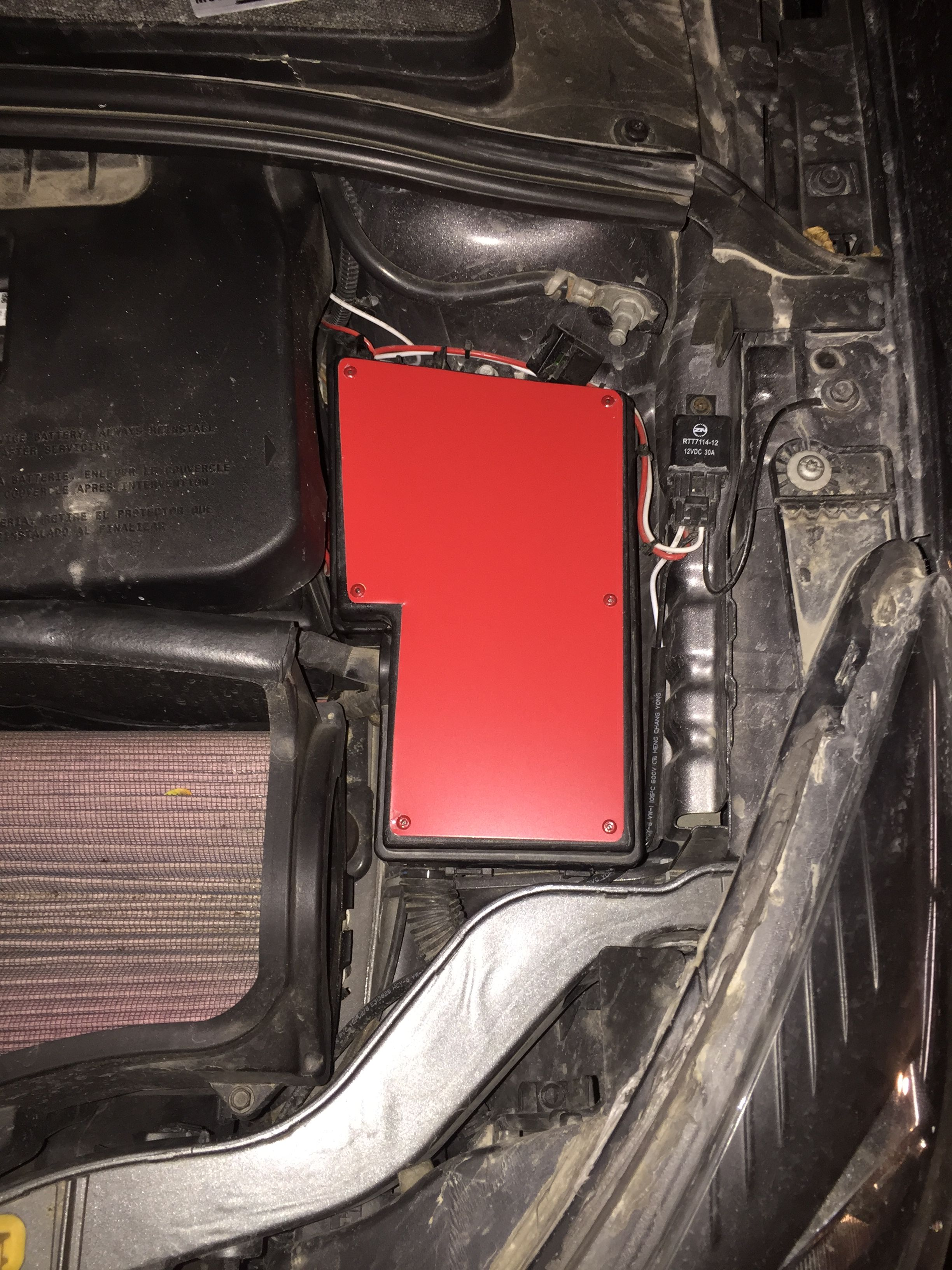 jenkins speed shop fuse box cover plate 15 00 shipping [ 2448 x 3264 Pixel ]