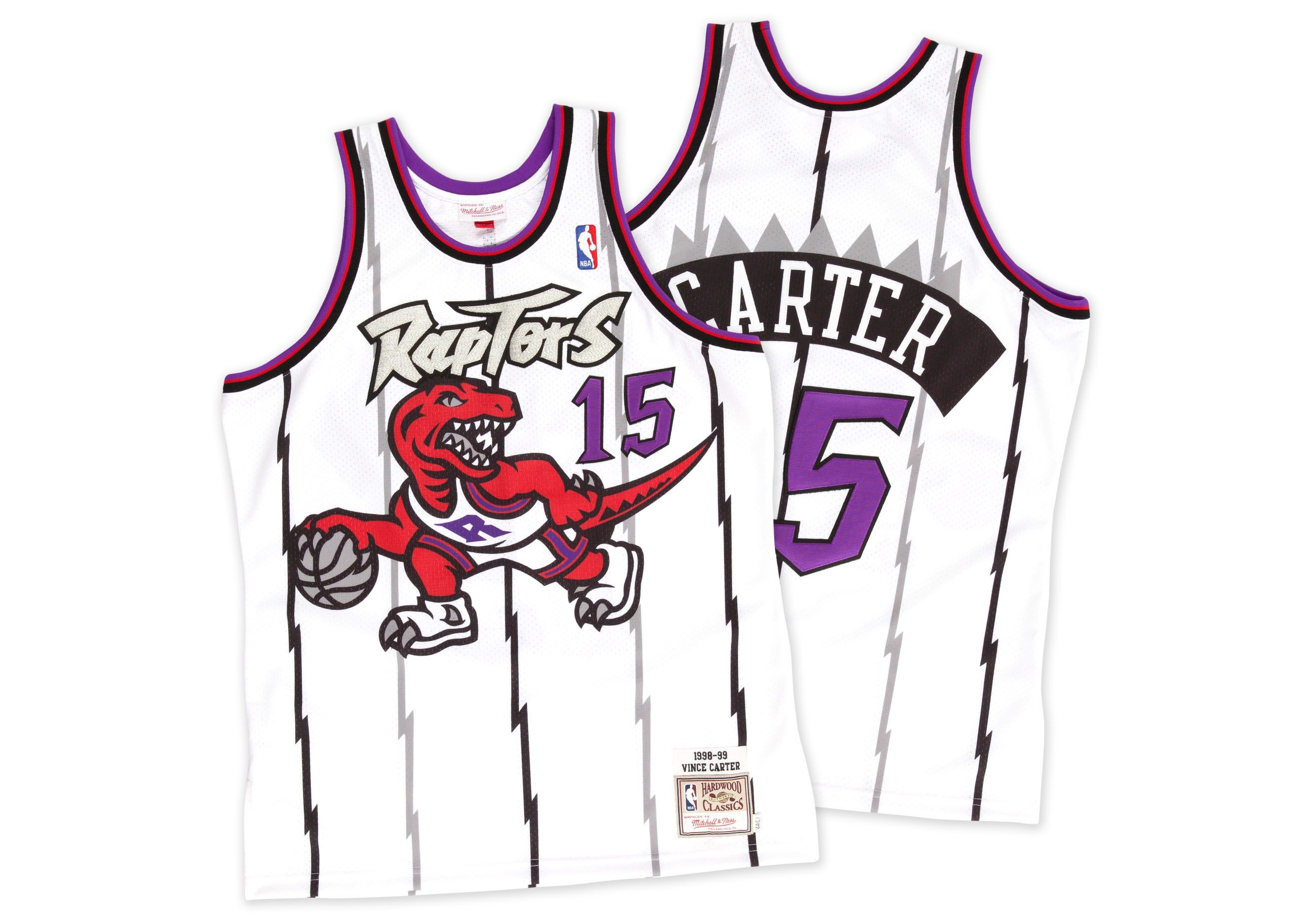6b74dedccbb ... 15 Pride Vince Carter 1998-99 Authentic Jersey Toronto Raptors -  Mitchell Ness ...