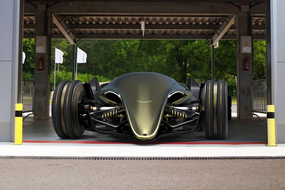 Toyota Ft X Race Car Concept Wordlesstech Formula E Racing Concept Cars