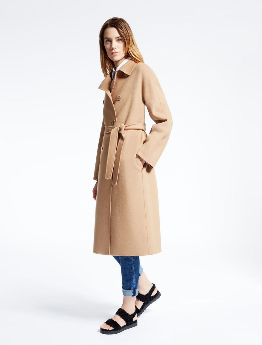 Weekend Max Mara ULULO cammello: Cappotto in lana