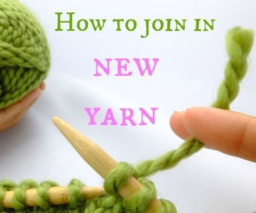Photo of Learn How to Join in New Yarn When Knitting…without Becoming Unraveled!