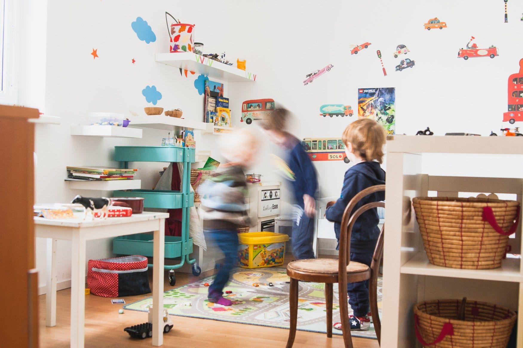 Kinderzimmer ausmisten & aufräumen Ideen, wie es auch