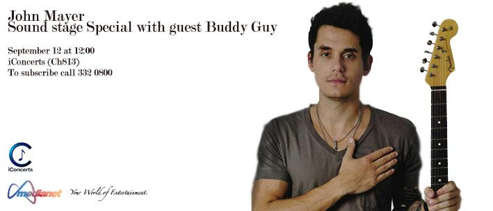 John Mayer Soundstage Special With Guest Buddy Guy Part 1 In