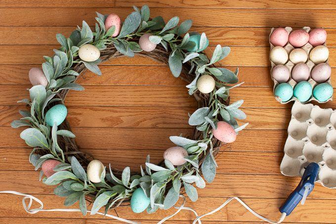 Photo of Easy DIY Easter Wreath – Handmade Weekly