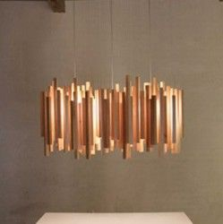 luminaire bois luminaire pinterest suspension en bois la chaleur et baguette. Black Bedroom Furniture Sets. Home Design Ideas
