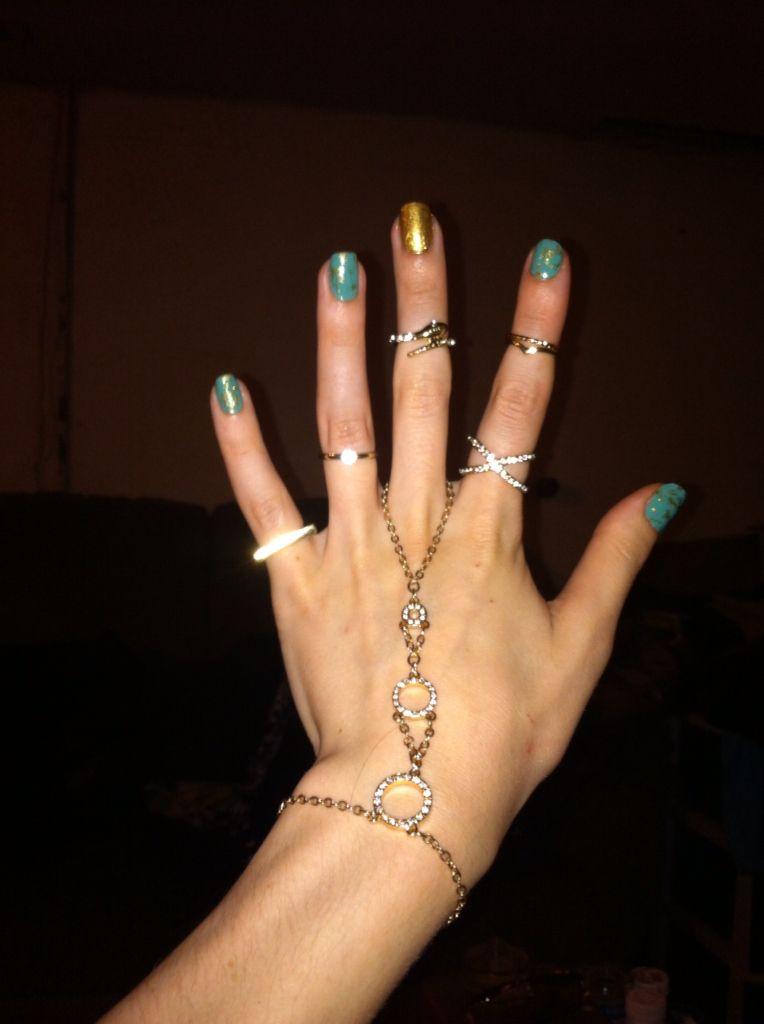 Goldstone nails