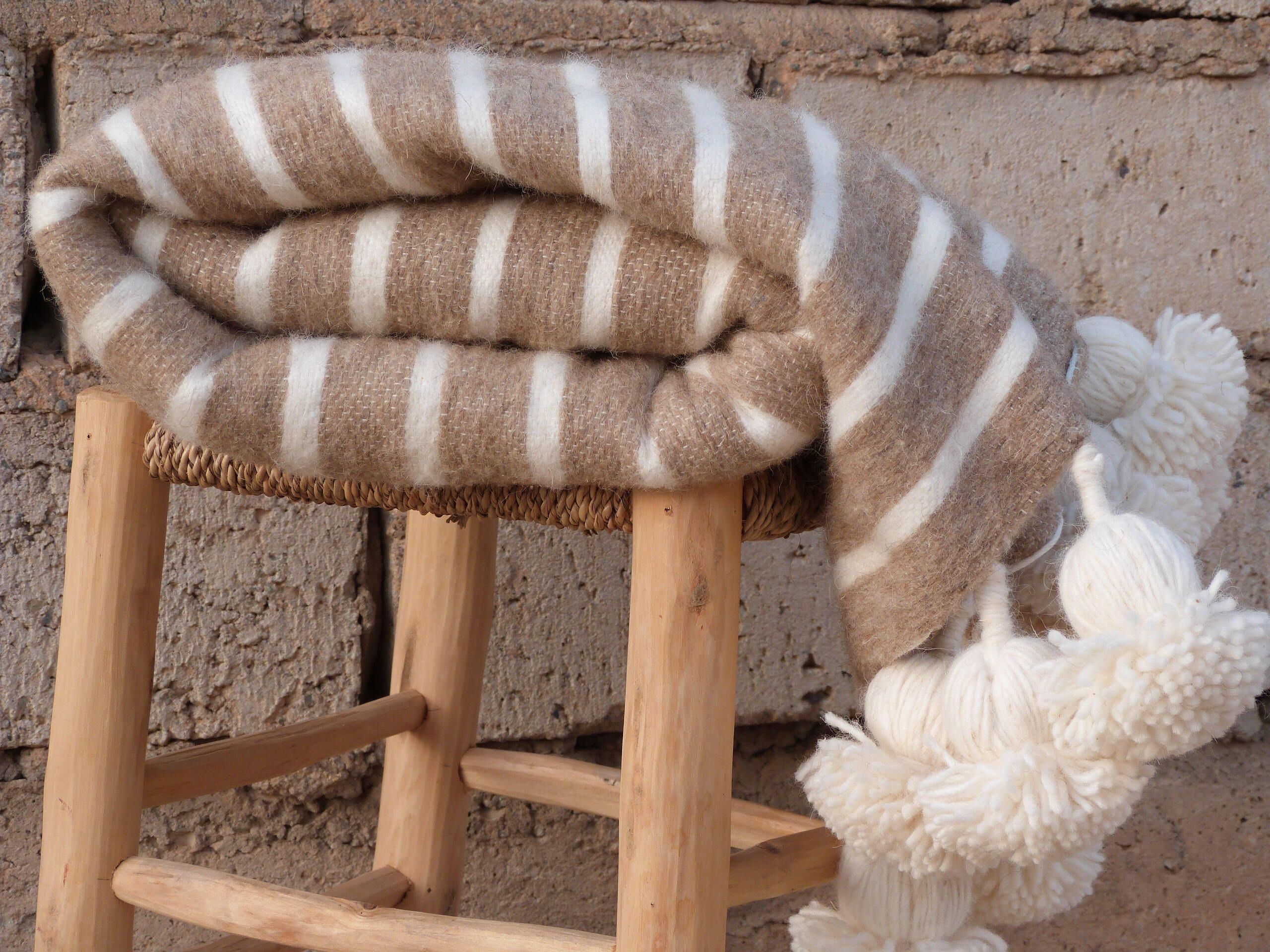 moroccan blanket pom pom blanket tassel throw blanket boho pom