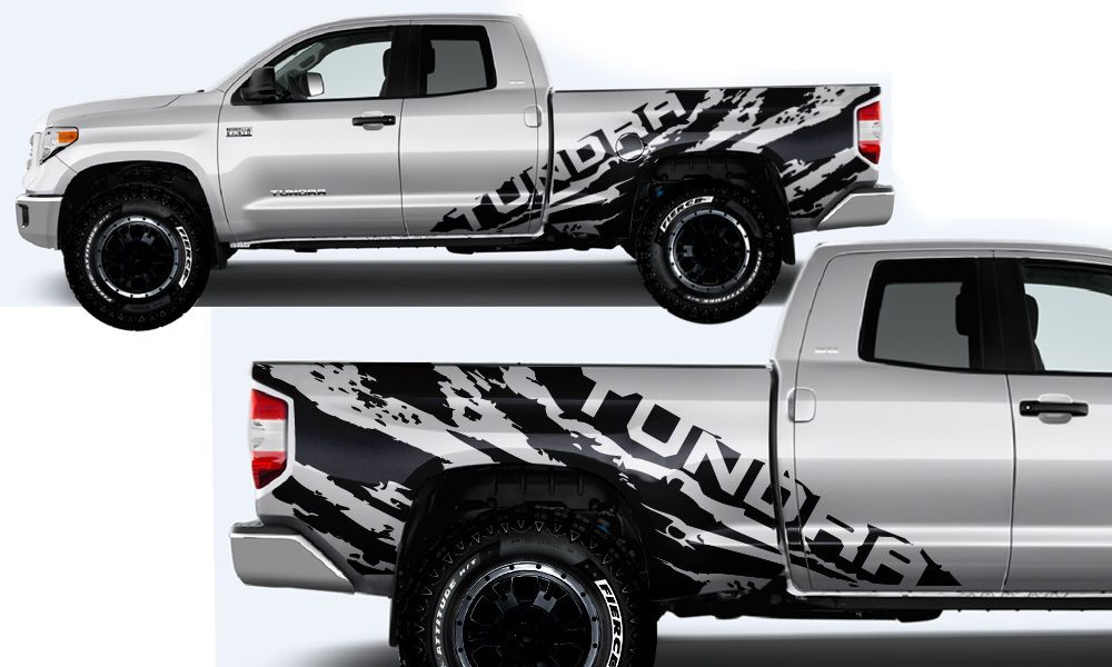 Awesome Awesome Vinyl Decal Wrap Kit TUNDRA TORN For Toyota - Vinyl decals for race carspopular trd vinyl decalbuy cheap trd vinyl decal lots from china