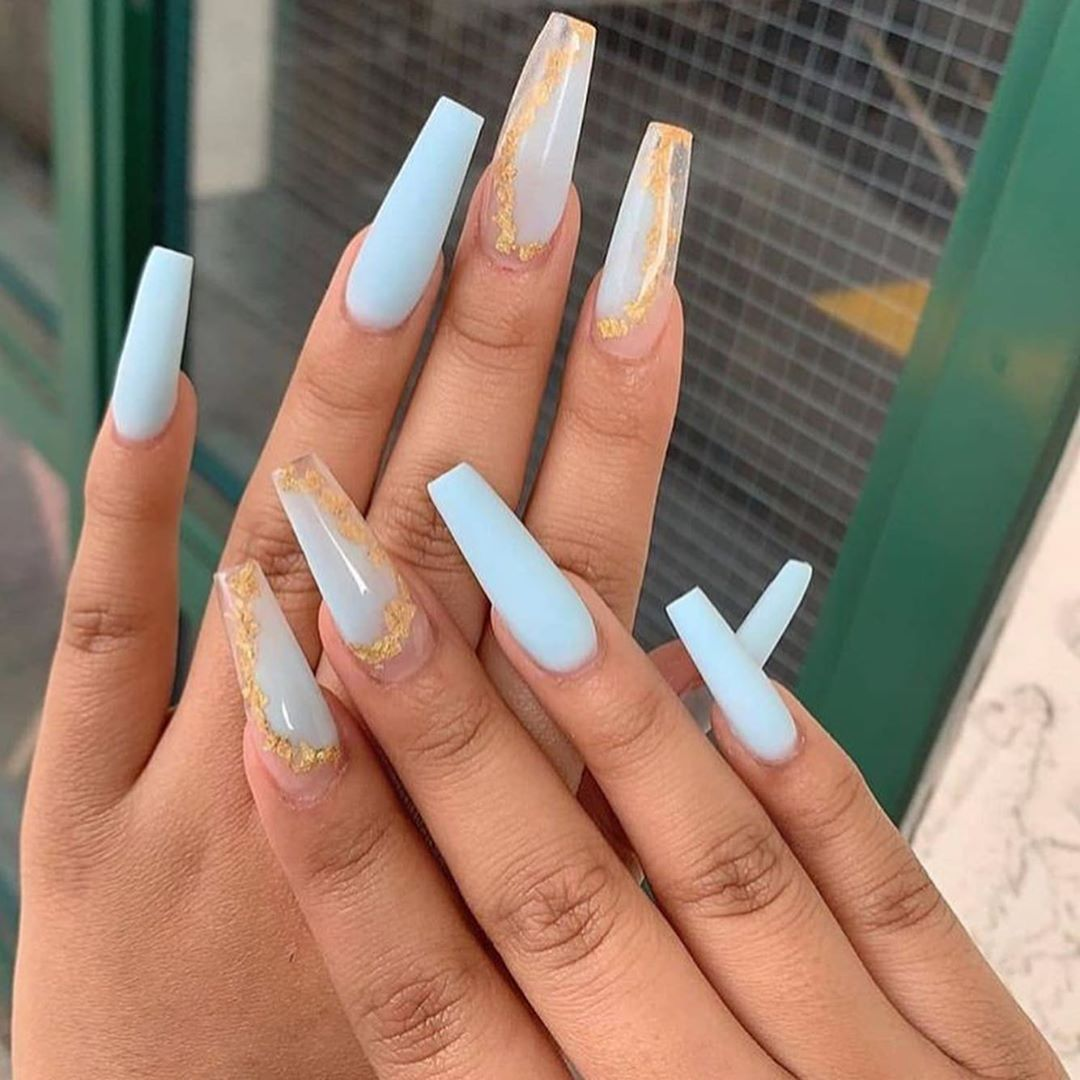 Pin On Cute Coffin Nails