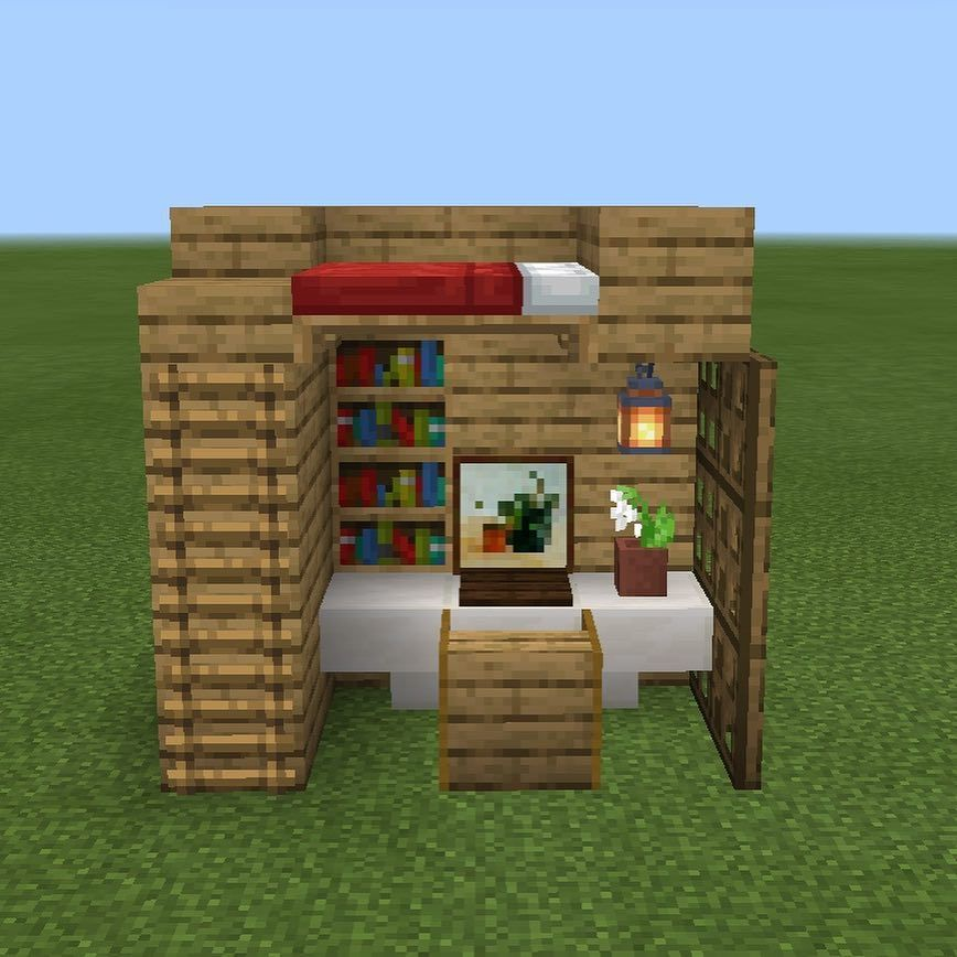 Hello This Is A Bedroom Design It Is Also My First Post Minecraftbuilds Minecraft Minecraf Minecraft Bedroom Minecraft Creations Minecraft House Designs