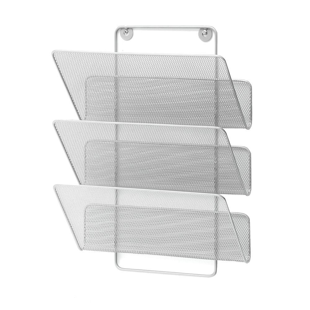 Wire Mesh Magazine Holder 3 Slot With Images Magazine Holders Holder Wire Mesh