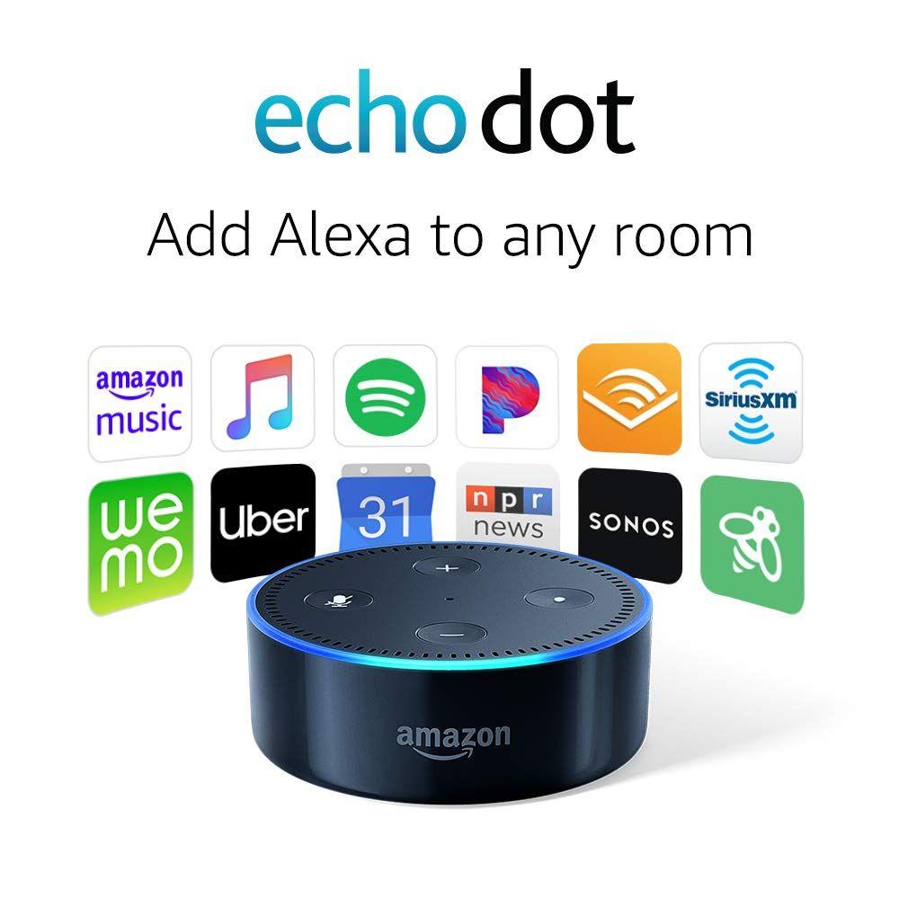 Amazon **50 Off** Echo Dot (2nd Generation) Smart