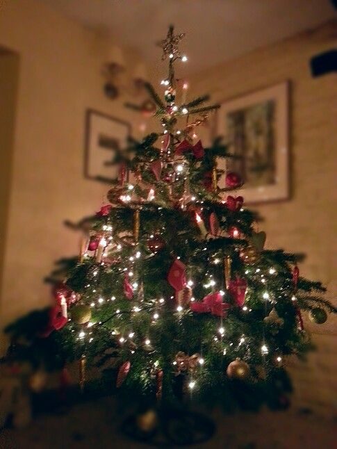 Traditional german christmas tree. #tree #christmas # ...