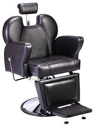 JAXPETY Salon/Barber Chair With Powerful Hydraulic Pump