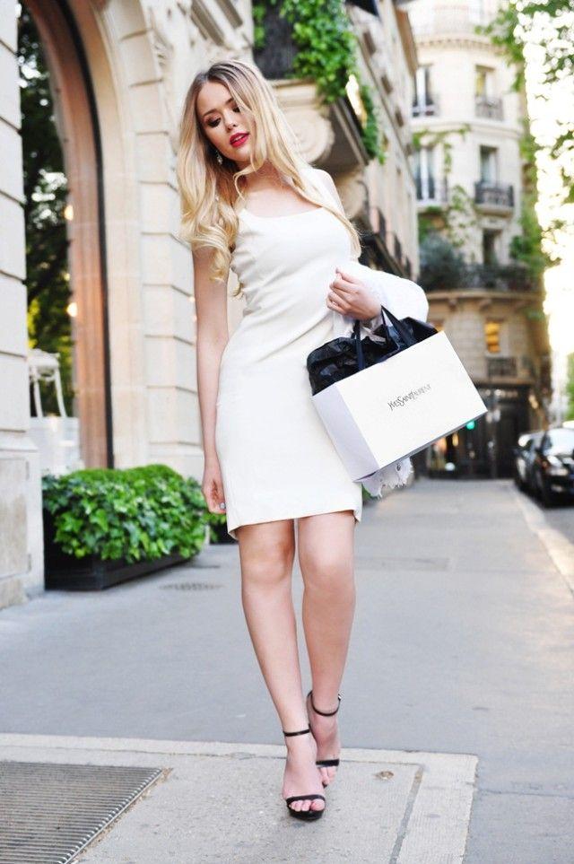 classic white dress 2017