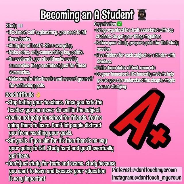 Become an A Student