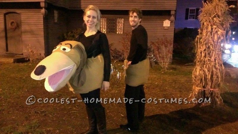 Cool Homemade Couples Slinky Dog Costume Diy Couples Costumes