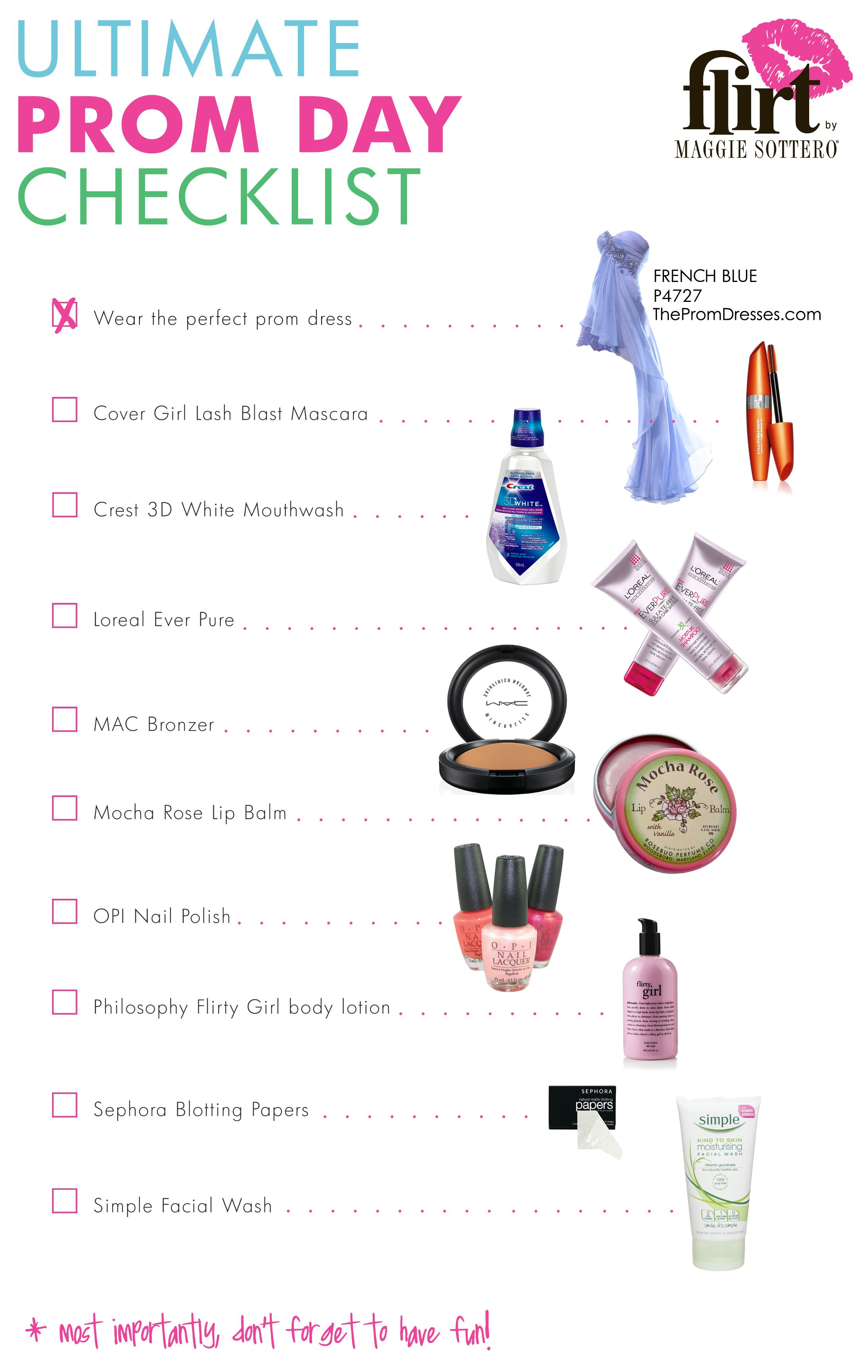 A Beauty Products Essentials List for Prom Night—Straight From a Celeb MakeupArtist