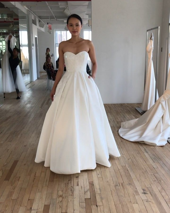 """Photo of Belle & Tulle Bridal on Instagram: """"Classic with a modern ed…"""
