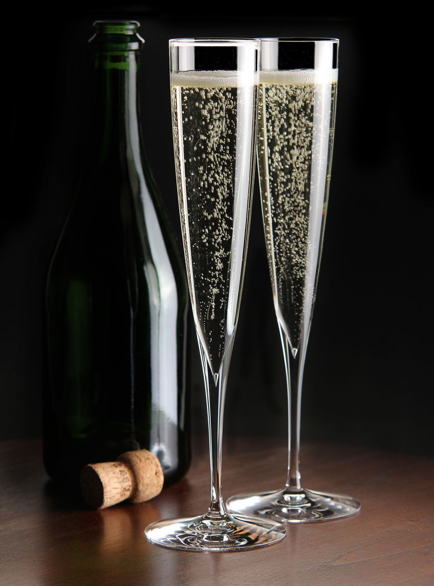 d856e883ae086 Waterford Crystal, Elegance Trumpet Crystal Champagne Toasting ...