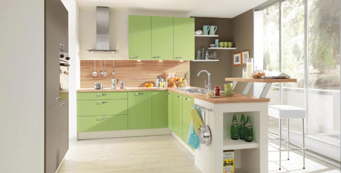 klassische küche grün  küchendesign küchendesign modern