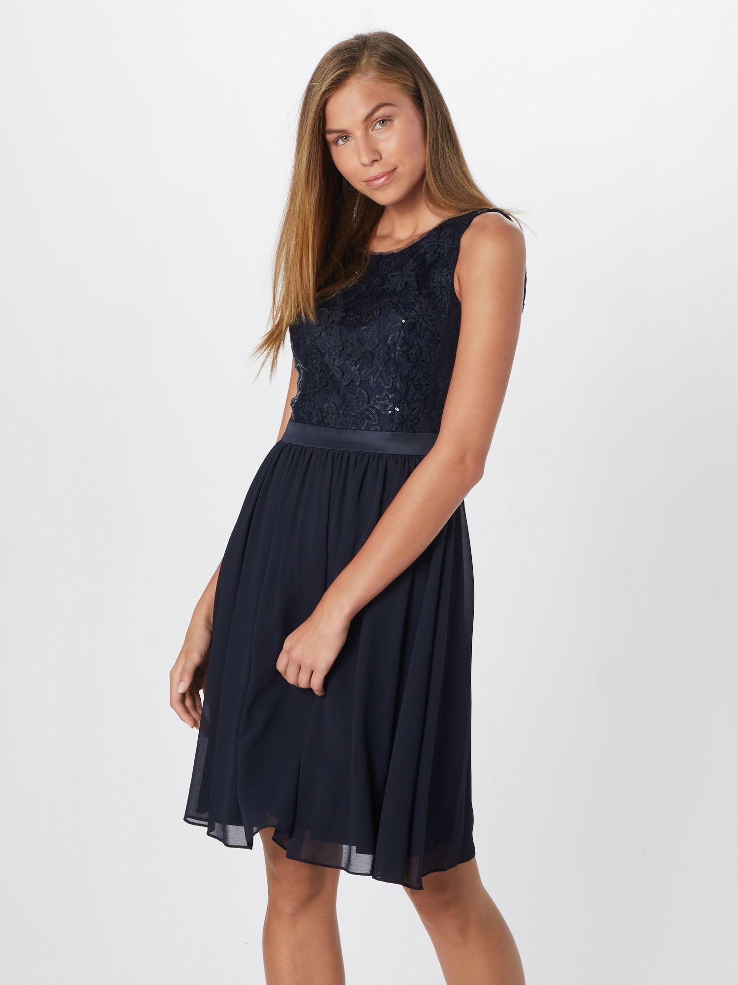 S Oliver Black Label Kleid Damen Blau Grosse 40 Kleider Damen Und Oliven