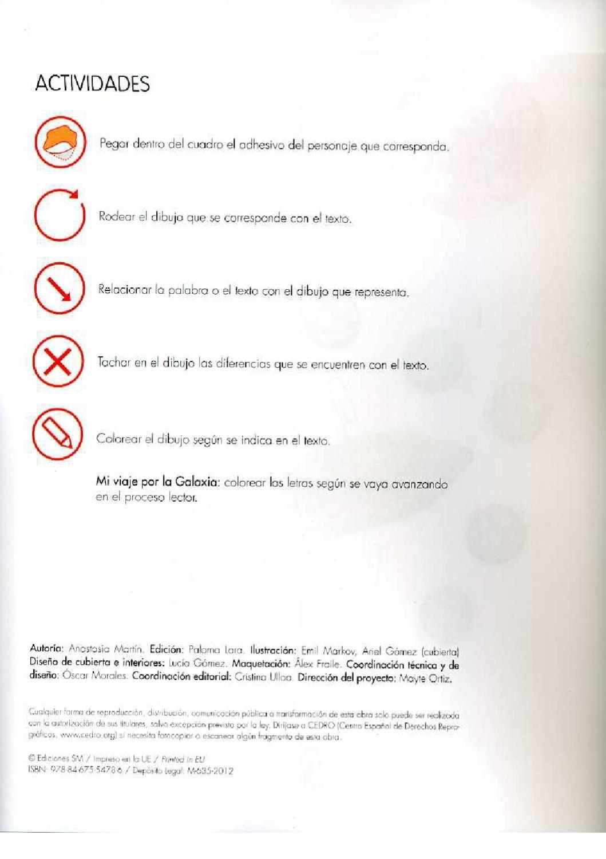 La Galaxia De Las Letras 1 Libros De Lectura Educacion Primaria