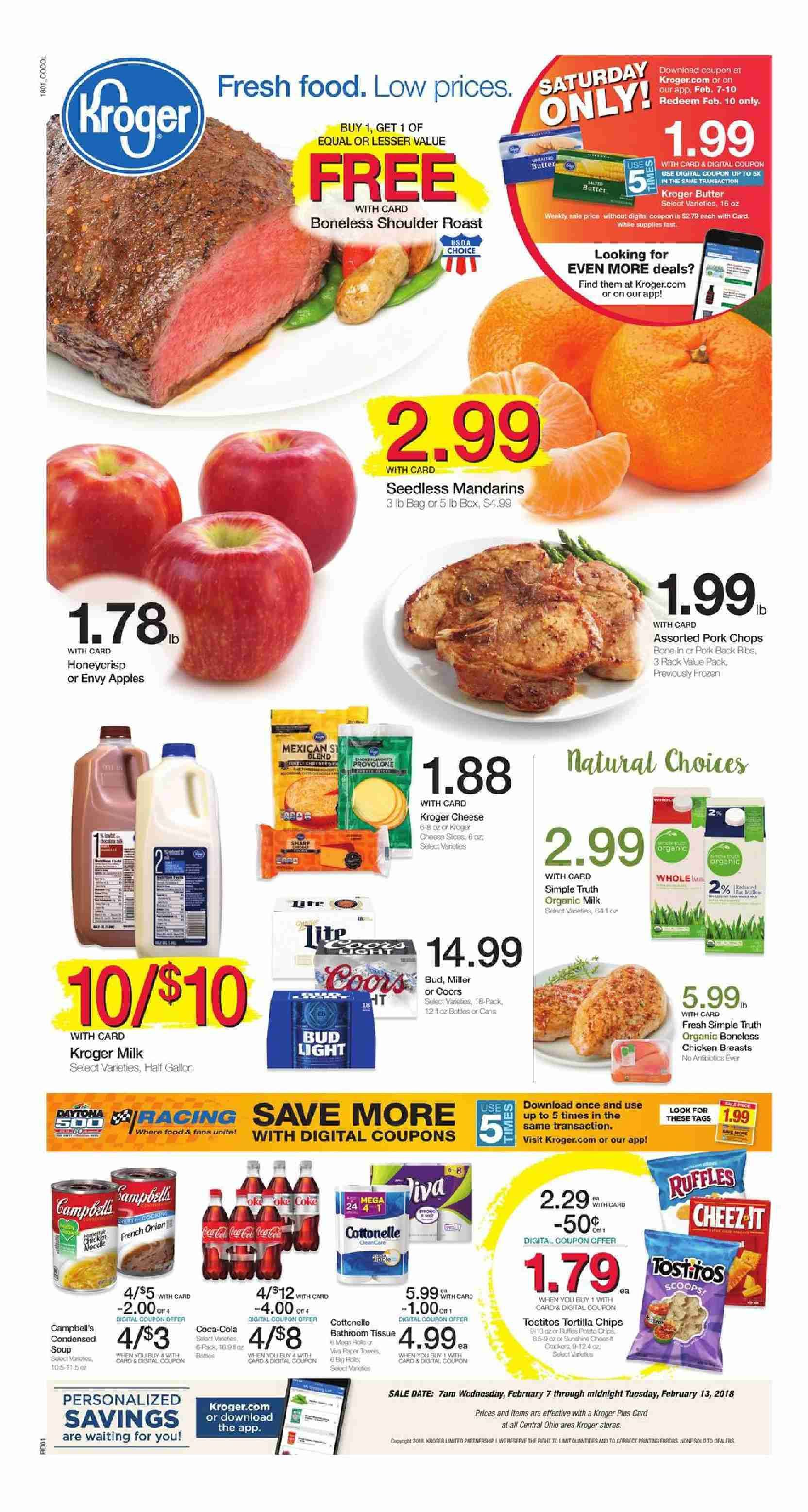 Kroger Weekly Ad Flyer March 11 17, 2020 Weekly ads