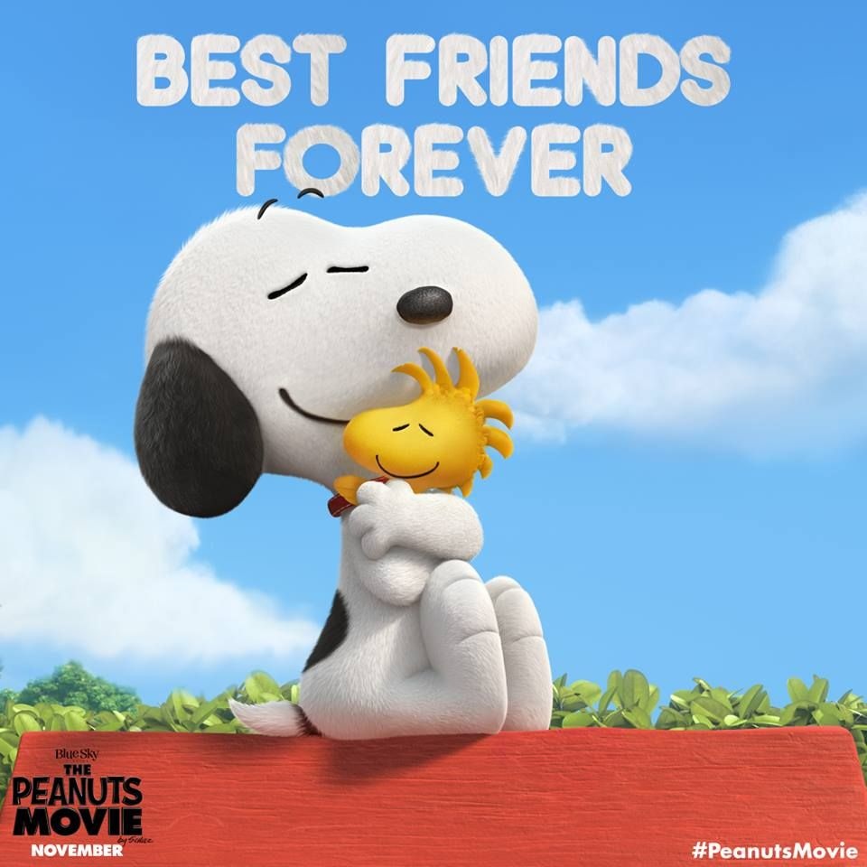 Happy Nationalbestfriendsday From The Peanuts Movie Snoopy