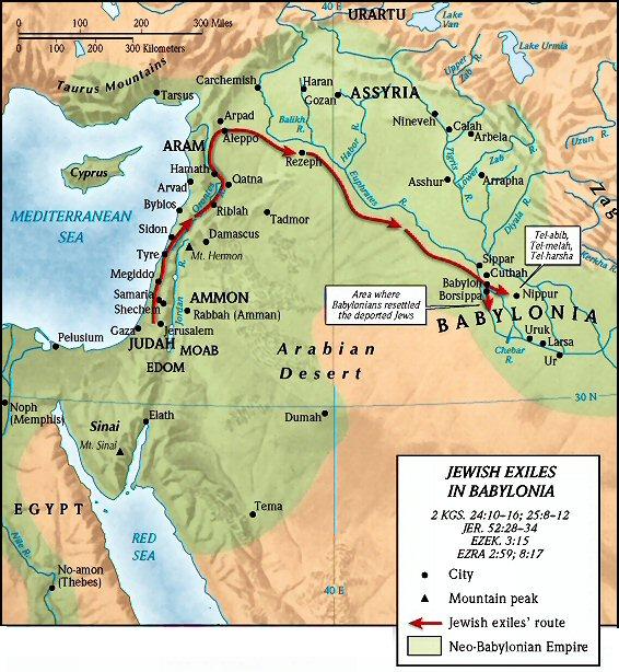 9 Babylonian Captivity ideas | bible mapping, bible history, babylonian captivity
