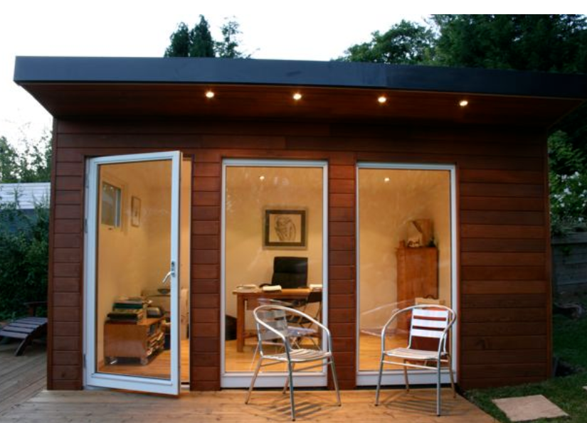 Image Result For Converting A Storage Shed Into An Office