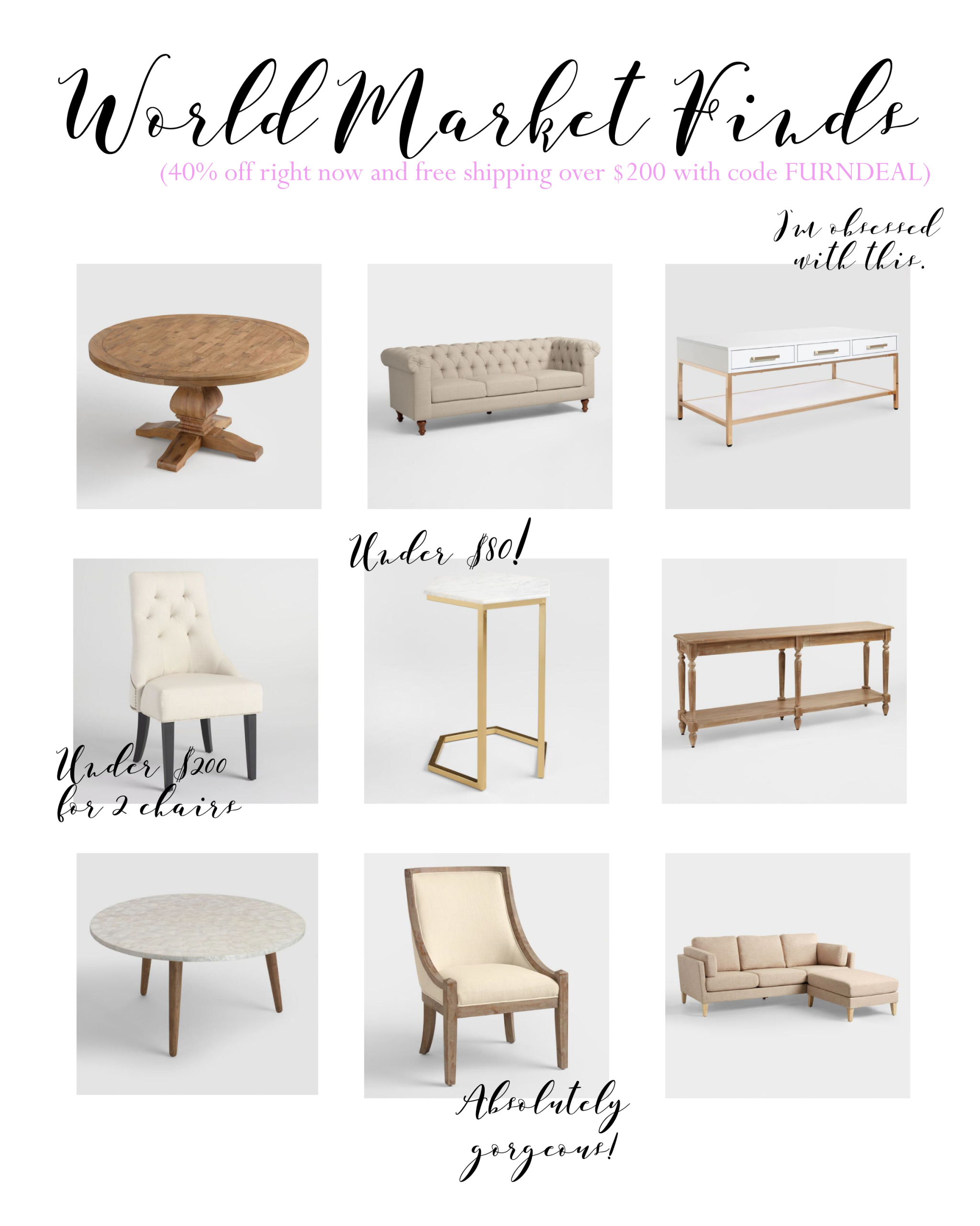 Excellent World Market Furniture Finds Home Decor In 2019 World Ncnpc Chair Design For Home Ncnpcorg