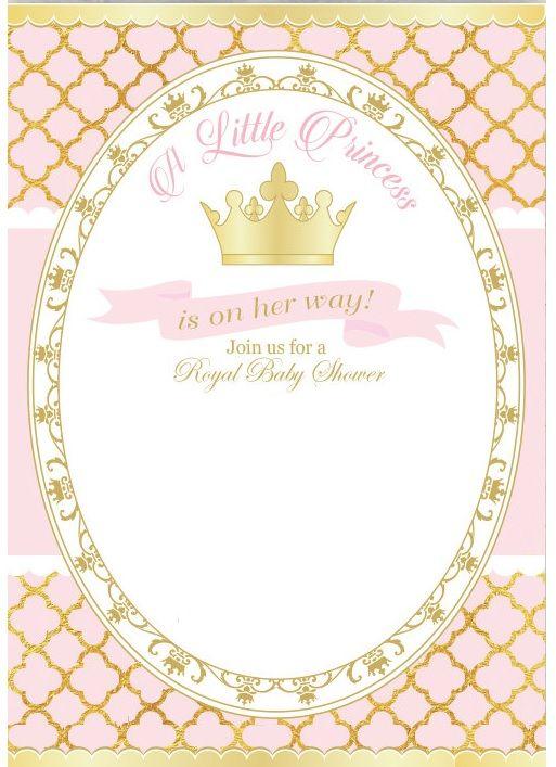 Invite Invitaciones De Cumpleaños Fiesta De Princesas Y