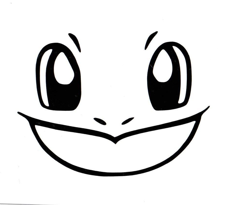 Pokemon Squirtle Face Black Vinyl Decal Sticker Ebay T