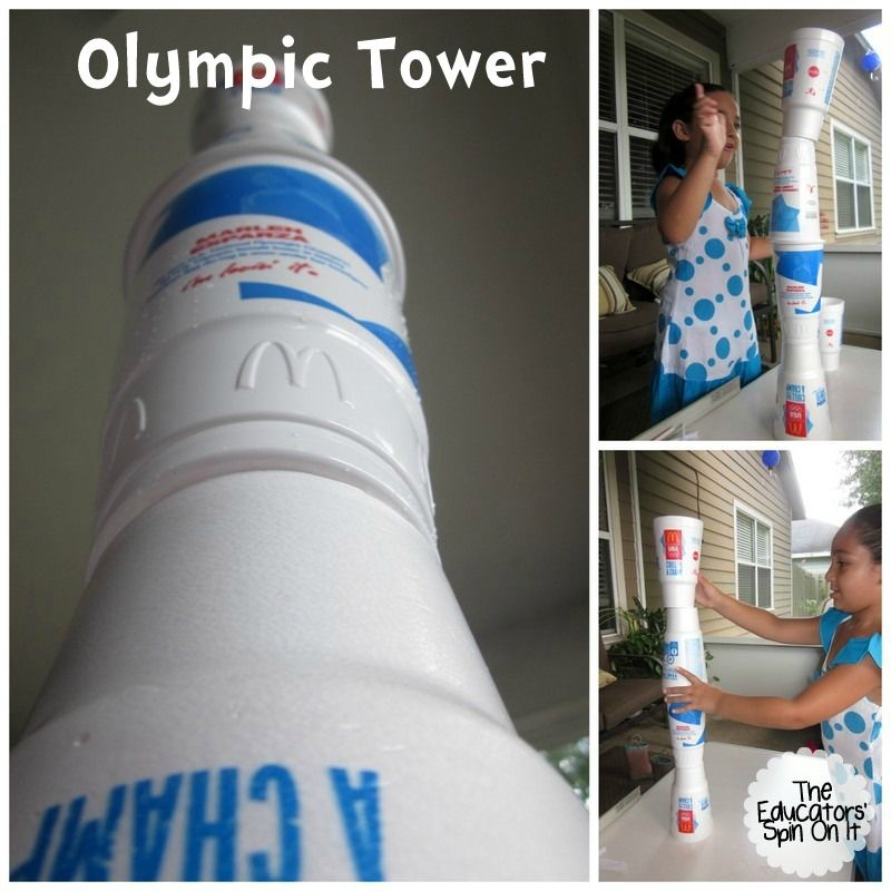 Olympics Games with Cups for Kids