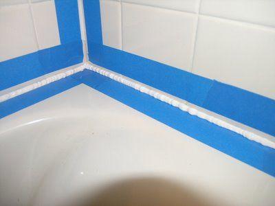 How To Caulk A Bathtub Diy Bathtub Caulking Bathtub