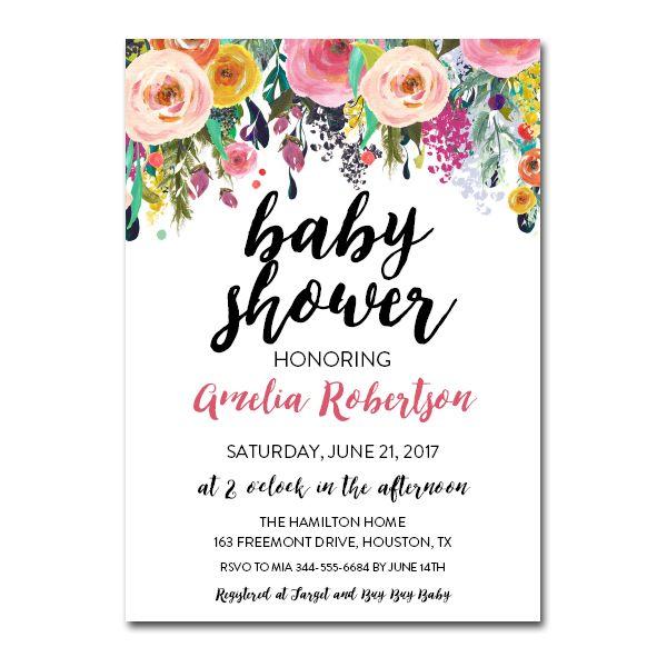 Free Printable Editable Pdf Baby Shower Invitation Diy
