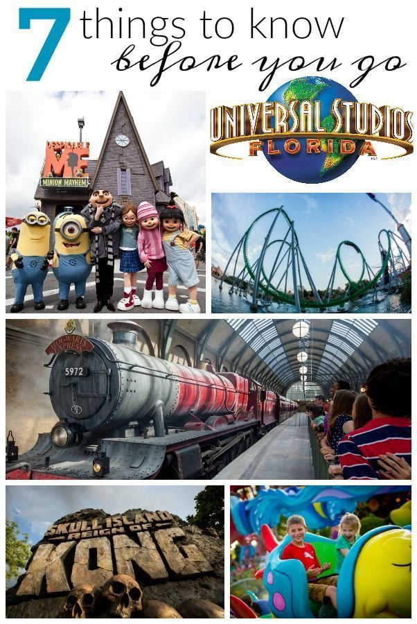 7 Things You Need to Know About Universal Studios Orlando FL Before You Go