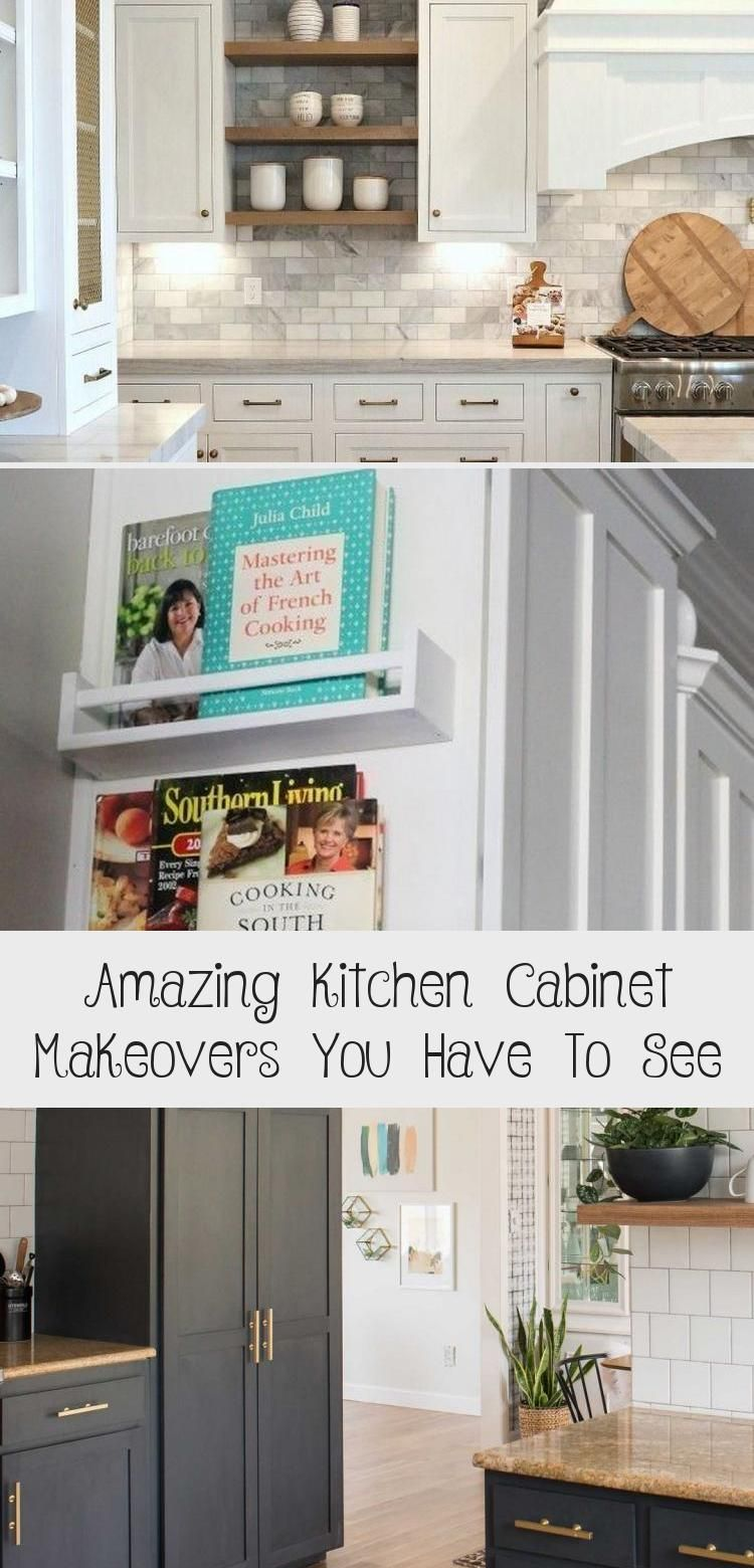 Amazing Kitchen Cabinet Makeovers You Have To See Kitchen In 2020 Kitchen Cabinets Kitchen Cabinets Makeover Kitchen Design Countertops