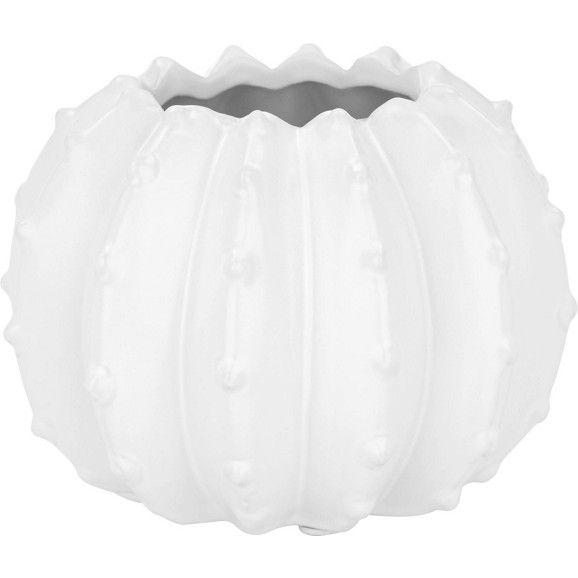 Vase in Weiß - der stylische Kaktus aus Keramik